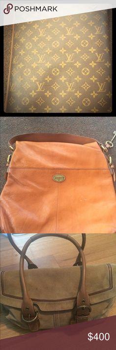 Excellent condition Vintage Louis Vuitton Fossil purse my favorite good shape Louis Vuitton Bags Travel Bags