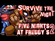 """""""Survive the Night"""" - Five Nights at Freddy's 2 song by MandoPony - YouTube  i just love this song!!"""