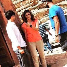 stana katic The Rendezvous bts