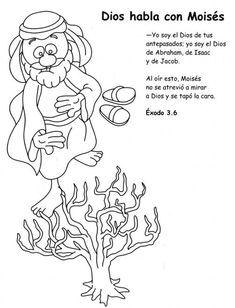 Me aburre la religi n historia de mois s para colorear for Jesus brings lazarus back to life coloring page