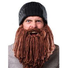 Crochet Long Beard Beanie