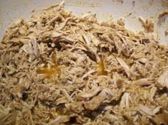 Barbacoa from Food.com: This is a Northern Mexican recipe that is adapted from a recipe by Rick Bayless. This uses a chuck roast and is made in the crock pot. My DBF asks me to make this again and again. Serve it with rice, sour cream, beans, and warmed tortillas.