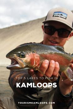Kamloops has plenty of well known spots to catch fish along with some really great secret spots that are waiting for you to find them. Going Fishing, Best Fishing, Fly Fishing, Fraser Valley, Lake Resort, Fishing Guide, Rainbow Trout, Boat Rental, Open Water
