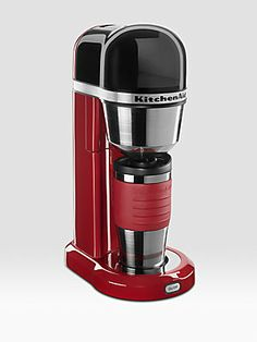 :: Natalie's (& John's) Stocking :: KitchenAid Personal Coffee Maker... perfect for the 'couple-on-the-go' working opposite schedules (ouch!)