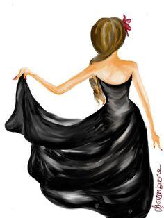<3 Little Black Dress