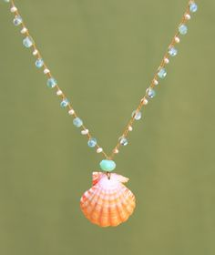 shell jewelry done right poppy-sea theme. love this!!~cb
