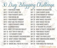 30 day photo challenge august - Google Search