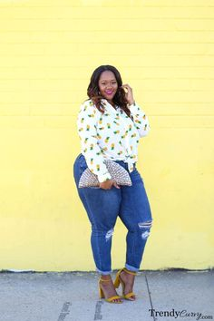 Pina Colada | TrendyCurvy | Plus Size Fashion www.trendycurvy.com/