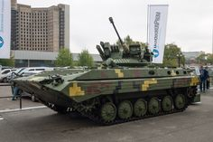 Ukraine tests combat stations for new infantry fighting vehicle - Mar. Army Vehicles, Armored Vehicles, Military Weapons, Military Army, Ukraine Military, Armored Truck, Ride 2, Armored Fighting Vehicle, Battle Tank