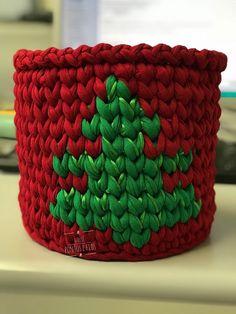 Cesto 18x17 Tema Árvore de Natal