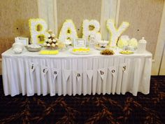 DIY Mommy to BEE Baby Shower - simple yet lovely! #DIY #babyshower