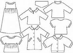 felt paper doll patterns free - Bing Images
