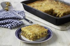 You are going to love this homemade Mexican Cornbread with this easy recipe. This casserole makes the perfect dinner for the family.