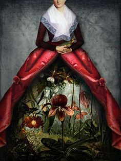 "☼ Emily Dickinson ☼   Book Cover - Letters from the Emily Dickinson Room  Picture is ""Her Garden"" by Catrin Welz-Stein."