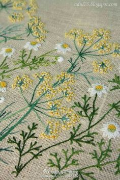 Umbella embroidery
