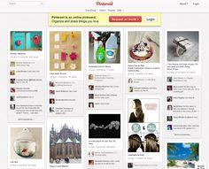 Pinterest - strona główna