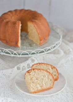Coconut Bundt Cake recipe from @Magda's Cauldron