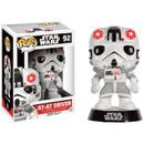 Pop! Vinyl Star Wars (Exc) AT-AT Driver Pop! Vinyl Figure The sylized POP! Vinyl figure has a rotating head and comes in a displayable window box! It stands approx. 9 cm tall. (Barcode EAN=0849803065744) http://www.MightGet.com/january-2017-11/pop!-vinyl-star-wars-exc-at-at-driver-pop!-vinyl-figure.asp