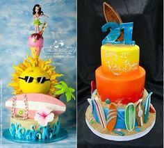 Cakes Luau Cakes, Birthday Cake, Desserts, Food, Pies, Tailgate Desserts, Deserts, Birthday Cakes, Essen