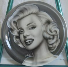 New Marilyn plate! $75.00 + shipping.