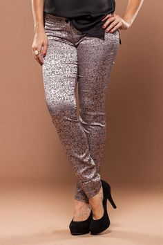 Calça Estampa Barroca - roupas femininas - online