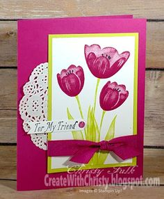 Short & Sweet Saturday - Tranquil Tulips