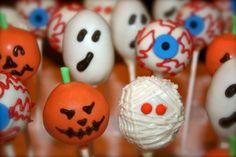 Halloween Cake Pops - Swirled Bakery