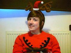 christmas jumper reindeer, reindeers, antlers, jumper, sweater, xmas, noel, winter, fashion