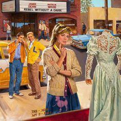 """Considering The Dress""  ~  Robert Berran"