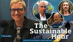 The Sustainable Hour no 157:  Water management as a solution to climate change. Dr Sohail Inayatullah about Our Future in Geelong - Tracey Slatter, new boss of Barwon Water, about water management, values, accountability and leadership - David Maher about natural farming - Steve Posselt about his kayak-journey and the Climate Emergency Declaration petition. More info on www.climatesafety.info/thesustainablehour157