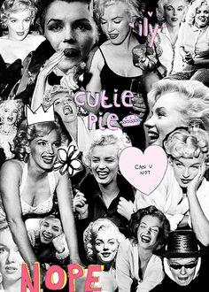Miss Marilyn Monroe | via Tumblr