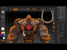 The Basics of ZBrush 4R5, Tooltip: Episode 2 ~ Mirror and Weld - YouTube