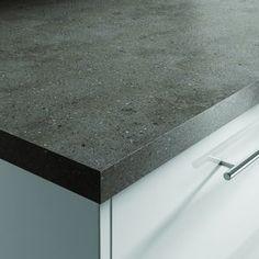 Lava Rock Corian Worktop | Benchmarx Kitchens U0026 Joinery