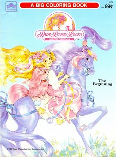Lady Lovely Locks Coloring Book.  The whole book!!