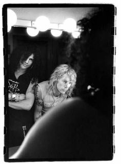 Slash and Duff in the Velvet Revolver days