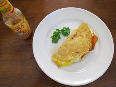 Breakfast Quesadilla For One - All you need is a tortilla, an egg, and a handful of cheese