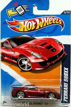 Ferrari 599XX 2012 Hot Wheels All Stars #5/10 SUPER SECRET Treasure Hunt