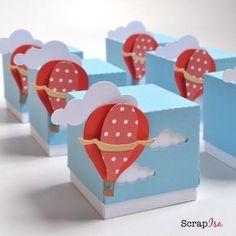 Baby Shower Party Favors Ideas Air Balloon Ideas For 2020 Baby Shower Party Favors, Baby Party, Baby Shower Parties, Baby Boy Shower, Diy And Crafts, Paper Crafts, Party In A Box, Baby Shower Balloons, Hot Air Balloon
