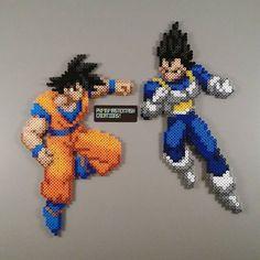 Dragon Ball perler beads by  pkmnmastertash