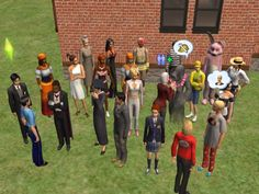 ModTheSims - Click on sim to change clothes. (Updated 03/19/07)
