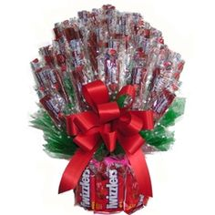 Twizzler are for Lovers Candy Bouquet is perfect for Valentine's Day. Order form Arttowngifts.com.