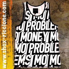 TANKTOP CAYLER MO PROBLEM!!!venite a trovarci allo SHOX urban clothing di viale dante 251 Riccione APERTI tutti i giorni anche la DOMENICA POMERIGGIO !per info e vendita contattateci su FB: @ SHOX URBAN CLOTHING ,spedizione €5-->free for order over €50!!! #tanktop #canotta  #moproblem #black #2015 #SHOX #cayler #cotton #custom #sartoriainterna #fashion #dapaura #fresh #streetwear #life #esclusivo #nuoviarrivi  #swag  #solodanoi  #unici #men #girl #summer #like #instafashion #riccione…