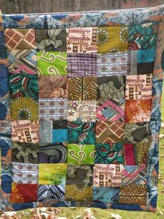 African Dreams Quilt (I have one that I bought in Africa, and can't wait to have one made for our baby if we ever have one!)
