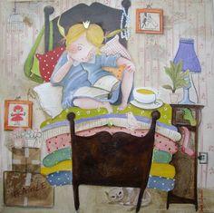 Lucia Rafanelli - la principessa sul pisello