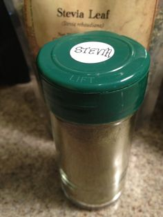 How to make your own stevia powder with dried stevia leaves