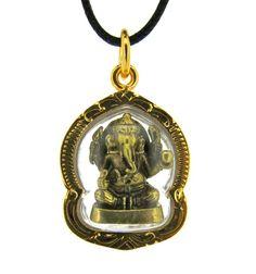 Dharmashop.com - Gold Thai Ganesh Amulet , $26.00 (http://www.dharmashop.com/gold-thai-ganesh-amulet/)
