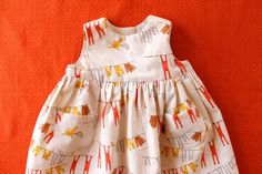 infant dress pattern for free