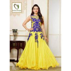 Woman Store :: Ethnic Wear :: Anarkali Suits :: PAKIZA - Finest Yellow Karishma Anarkali Suits - Customer Testimonials