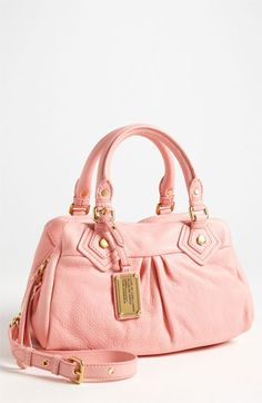 MARC BY MARC JACOBS 'Classic Q - Baby Groovee' Leather Satchel available at #Nordstrom
