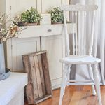 Today on the blog I shared my full review of the new magnolia chalk style paint wax I used it to paint this cute little antique chair Im sharing all my thoughts in todays post Im even comparing it to Annie Sloan RustOleum chalk paint Come on over to check it outthe link is in my profile And tell me whats your favorite chalk paint Any others I need to try